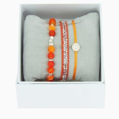 Strass Box Fine Rocks SS17 - Orange 3 - Cristal