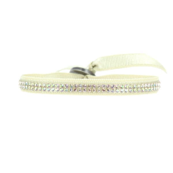 Bracelet Full 2 Rangs Ton sur Ton - Sable - Sable