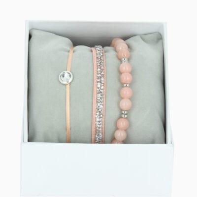 Strass Box L'Adorable - Rose 5 - Cristal