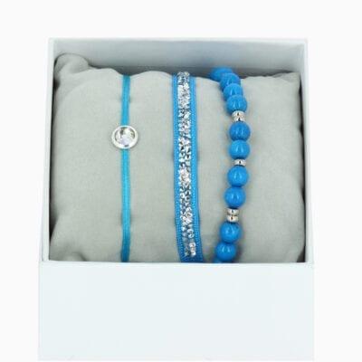 Strass Box L'Adorable - Bleu 138 - Cristal