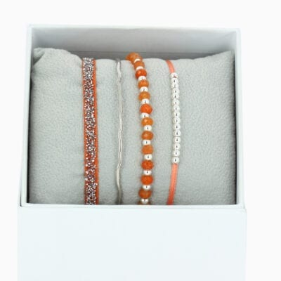 Strass Box La Malicieuse - Orange 3 - Palladium