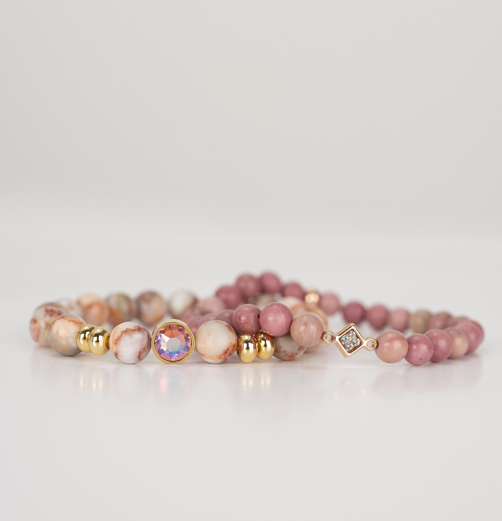 Bracelets perles pour femme