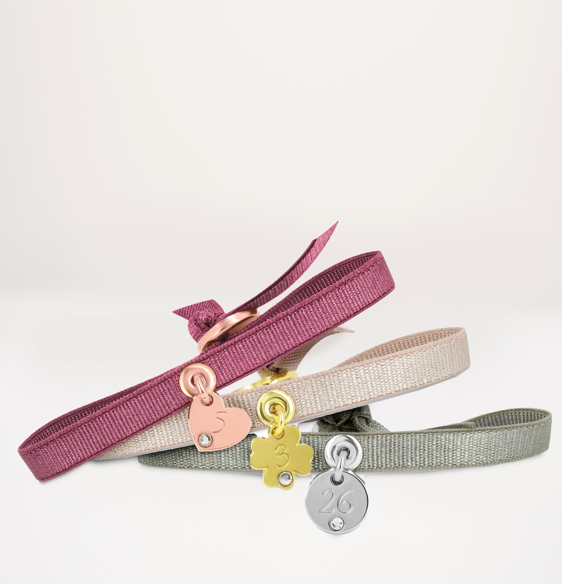 bracelets numbers personnalisés et ajustables