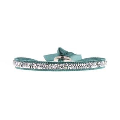 Bracelet Fine Rocks - Vert 1 - Cristal